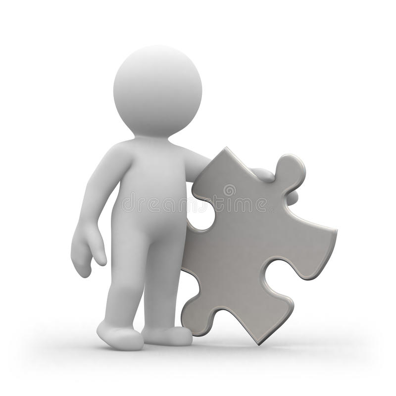 Download Puzzle 1 Royalty Free Stock Photography - Image: 14016147