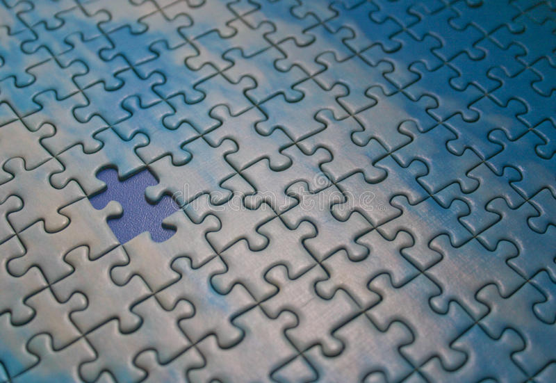 Puzzle royalty free stock image