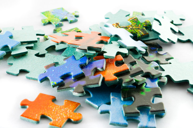 Download Puzzle stock image. Image of challenge, ideas, dots, order - 1876281