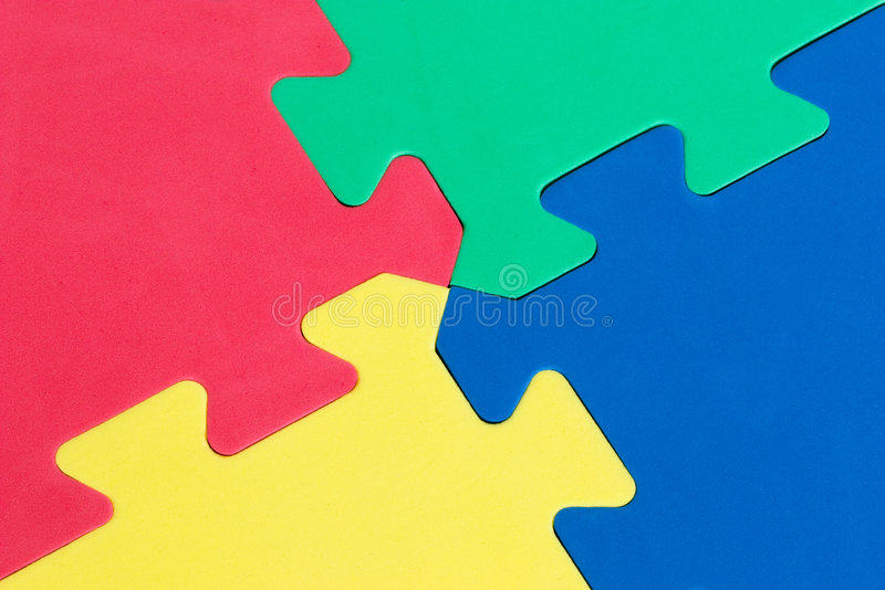 Puzzle 2 stock photography