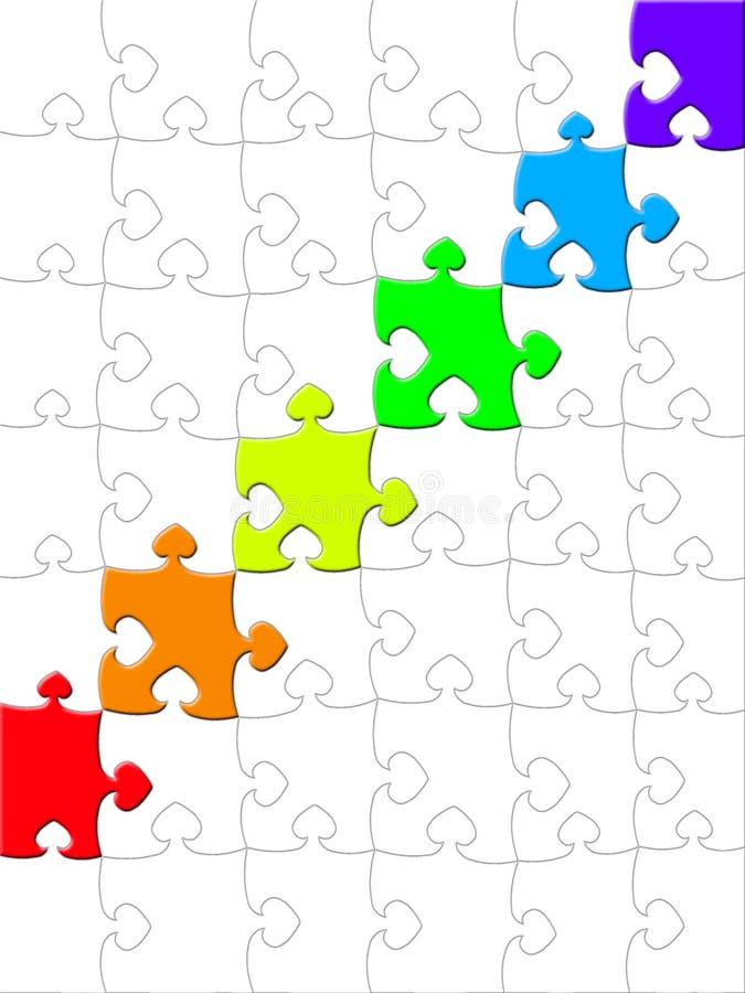 Puzzle illustrazione vettoriale