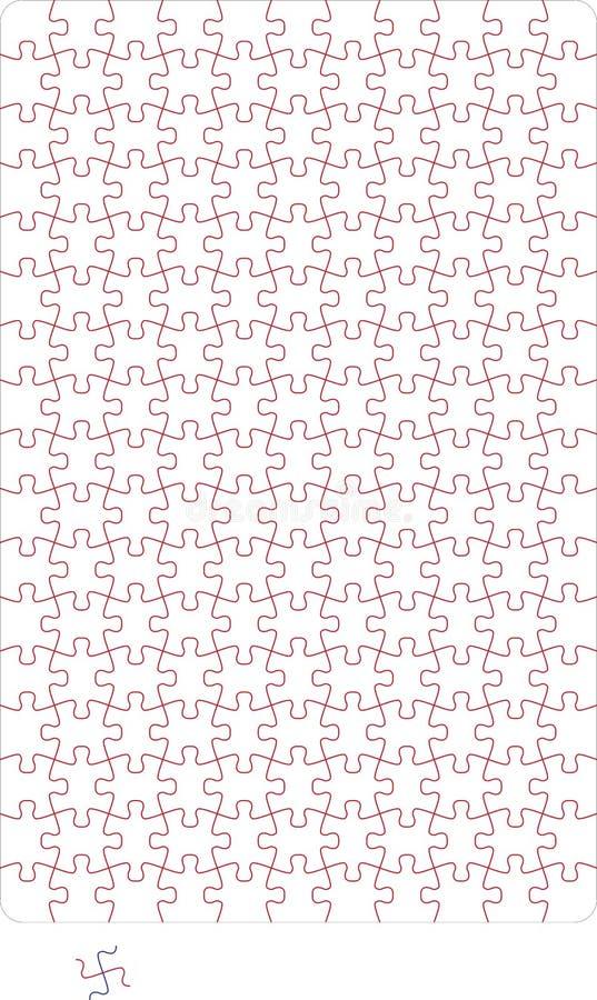 Puzzle vektor abbildung