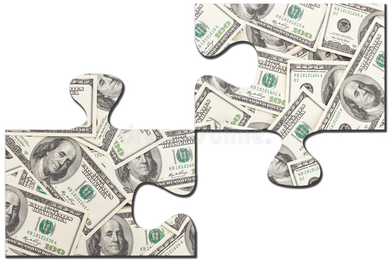 Download Puzzle stock photo. Image of copy, abstract, crunch, dollar - 22488392