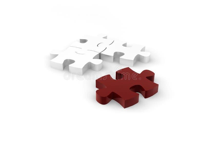 Download Puzzle stock illustration. Image of idea, puzzle, team - 24896114