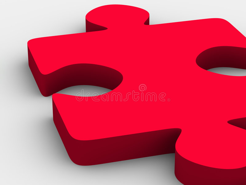 Puzzle. stock illustration