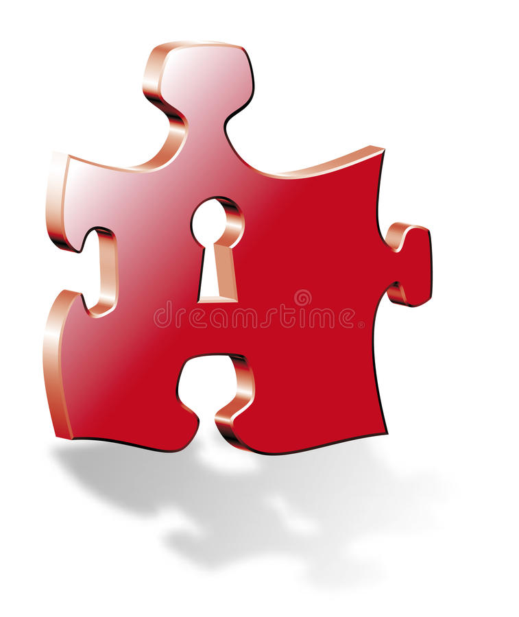 Download Puzzle stock vector. Image of adversity, element, concepts - 28323979