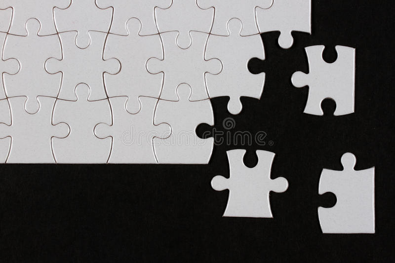 Download Puzzle stock image. Image of black, background, concept - 28403775