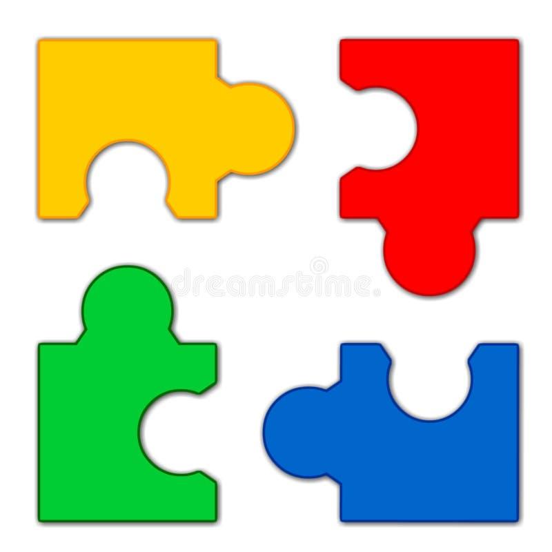 Puzzle #3 illustrazione di stock