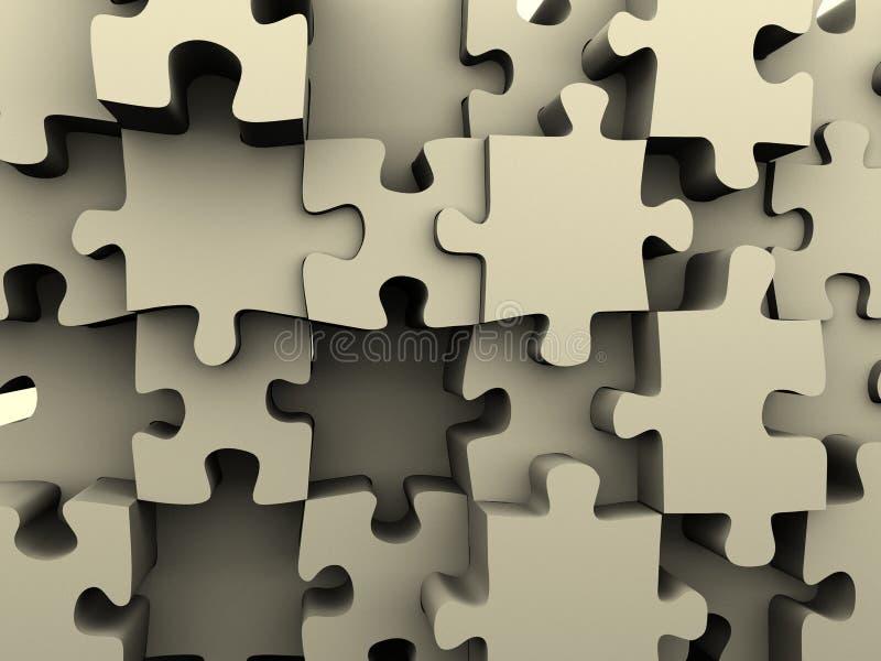 Puzzle 3 royalty illustrazione gratis