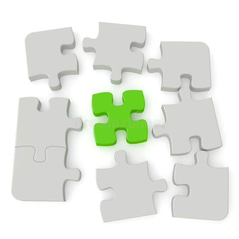 Puzzle Stockbilder
