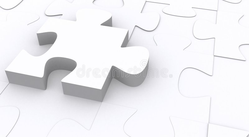 Download Puzzle 3d illustrazione di stock. Illustrazione di pazienza - 3880362