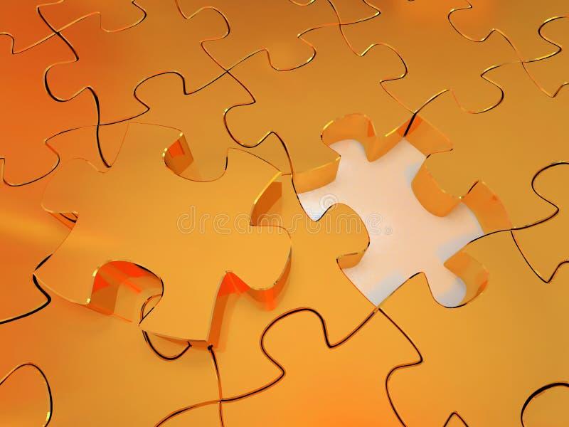 Puzzle #7 immagini stock libere da diritti