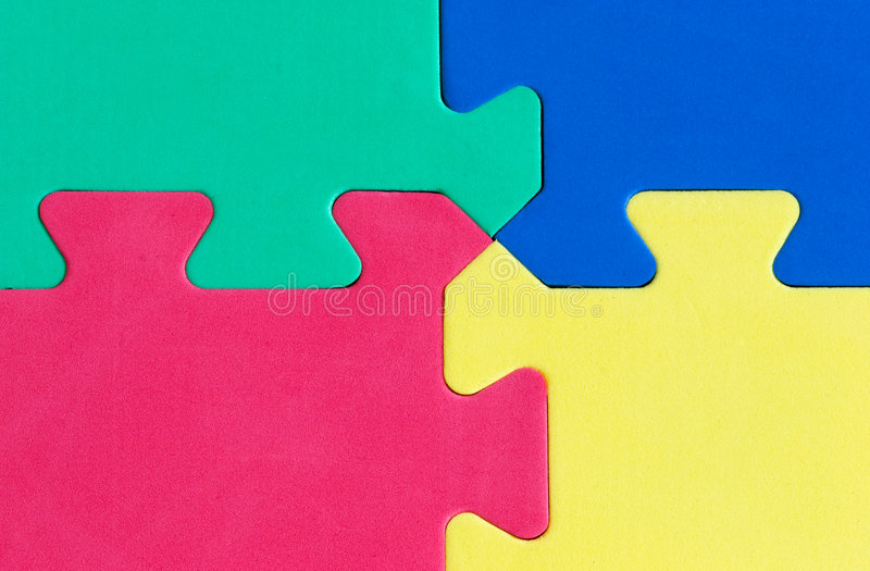 Puzzle image stock