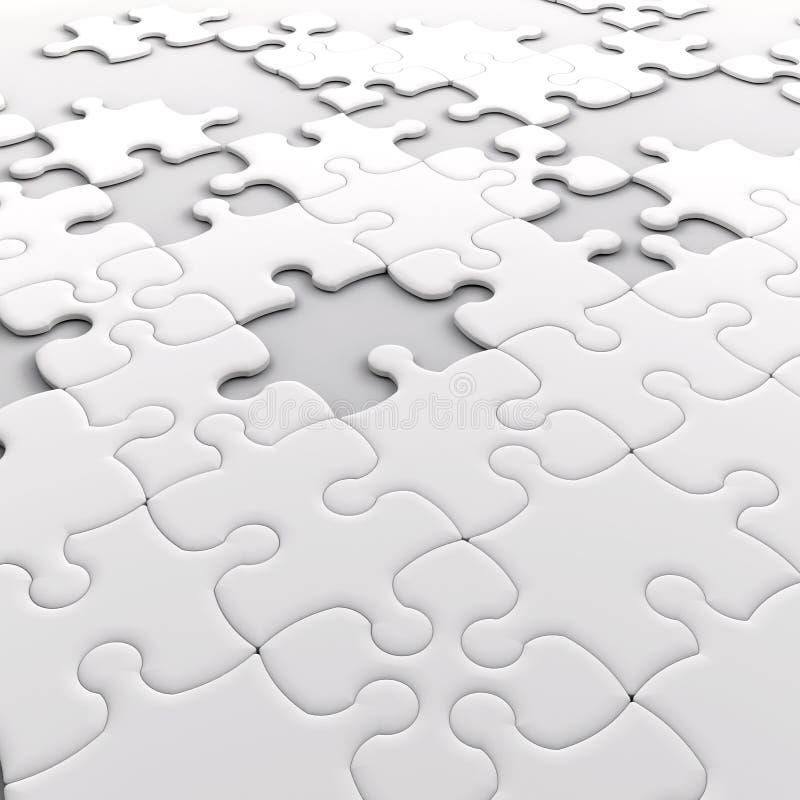 Puzzle stock abbildung