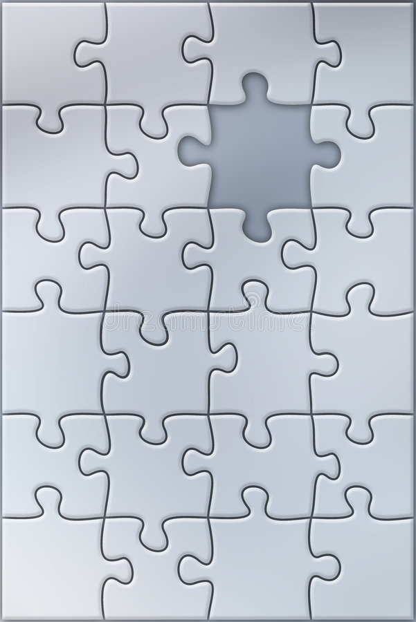 Download Puzzle stock illustration. Image of complexity, attached - 6747387