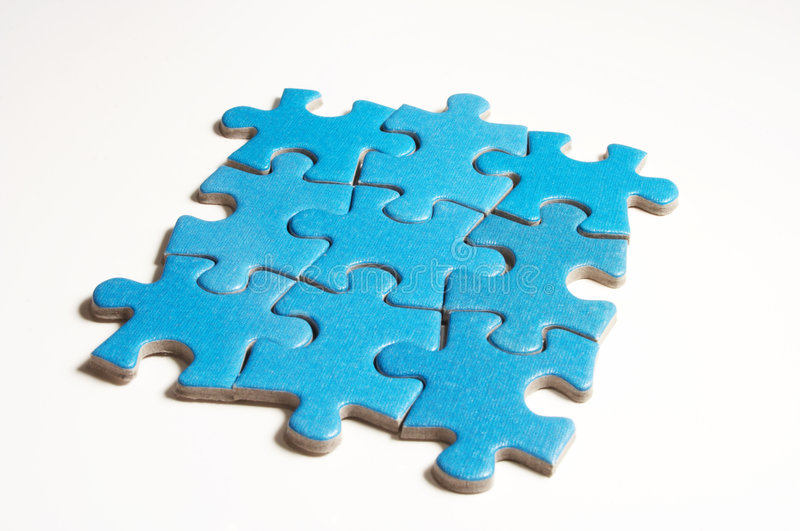 Download Puzzle stock image. Image of puzzle, over, element, pattern - 850855