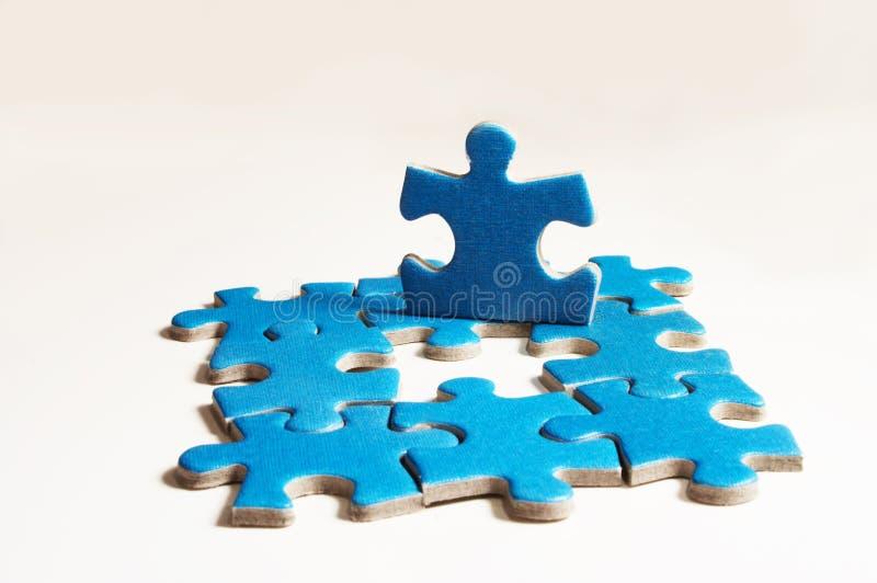 puzzle zdjęcia stock