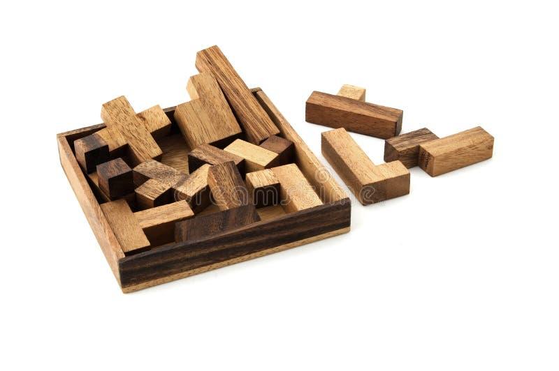 Download Puzzle image stock. Image du handicraft, wooden, embarassé - 85731