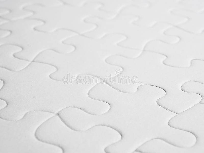 Puzzle abstract. Puzzle piece abstract in white stock photography