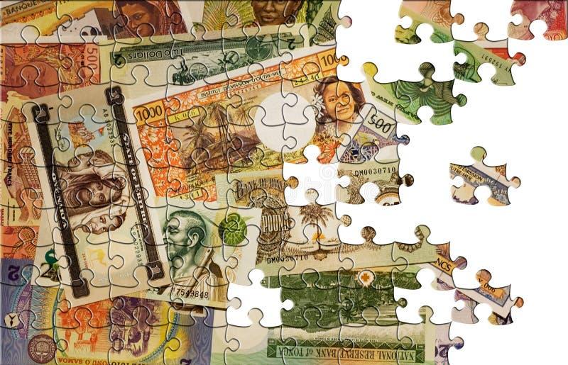 Puzzle avec les parties manquantes illustration libre de droits