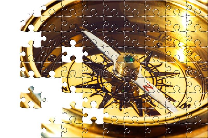 Puzzle avec les parties manquantes photos stock