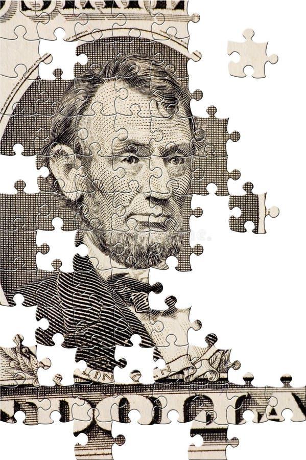 Puzzle avec les parties manquantes images libres de droits