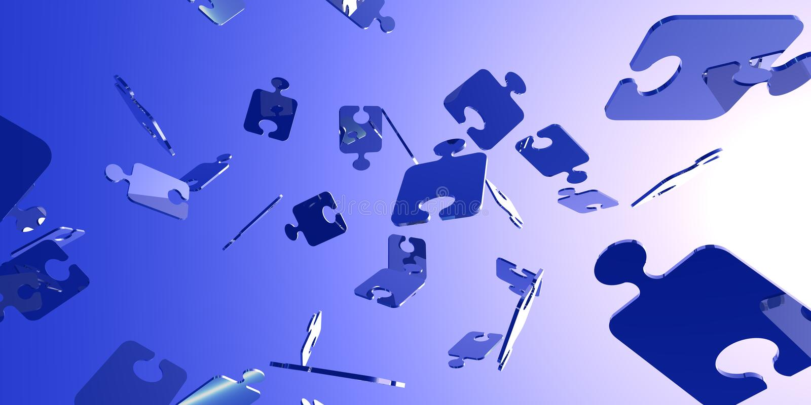 Download Puzzle Banner Stock Photography - Image: 5548472