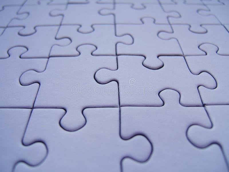 Puzzle blu immagine stock libera da diritti