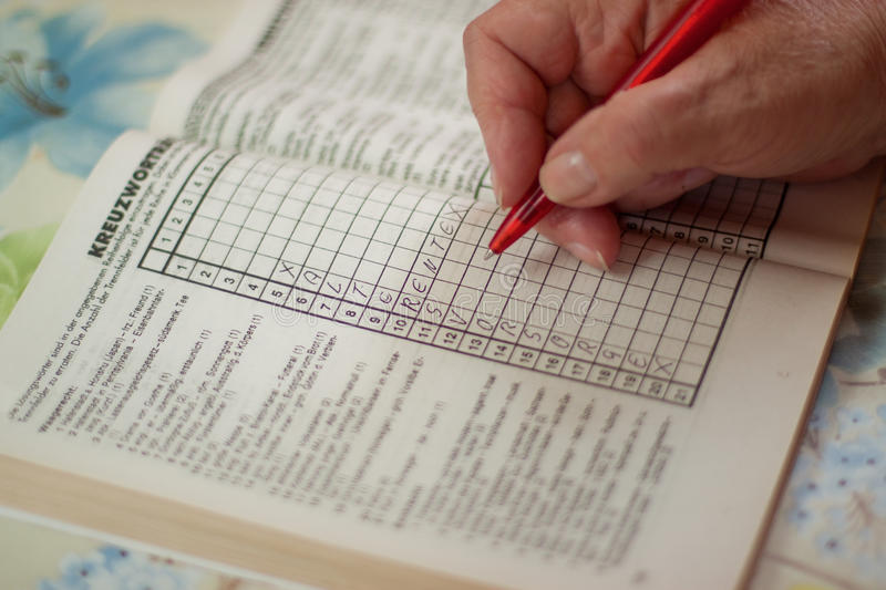Download Puzzle Book With The Word Retirement Royalty Free Stock Images - Image: 24577919