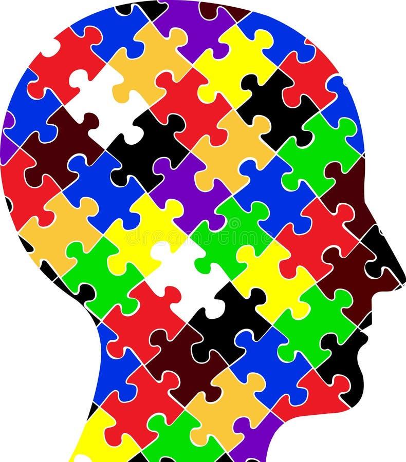 Puzzle capo illustrazione di stock