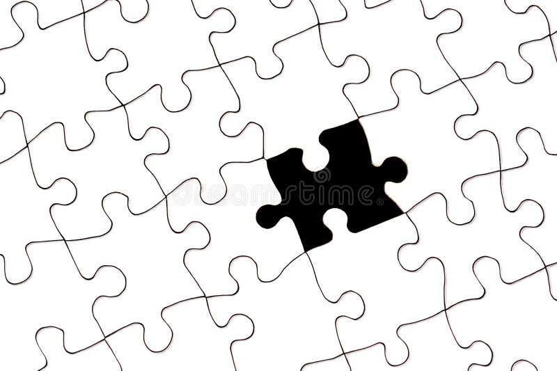 Puzzle con la parte mancante royalty illustrazione gratis