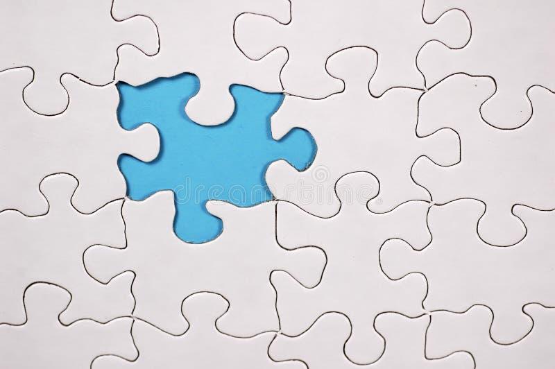 Puzzle con priorità bassa blu-chiaro illustrazione vettoriale