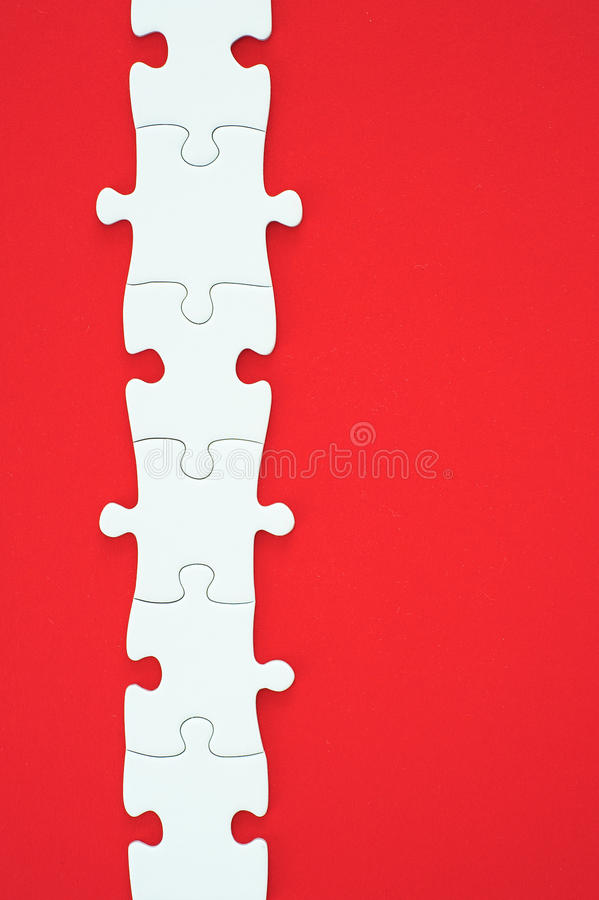 Download Puzzle stock image. Image of line, connection, togetherness - 24803907