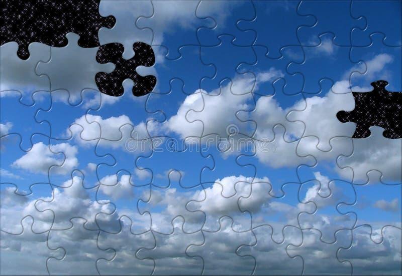 Puzzle Cosmico Immagini Stock Libere da Diritti