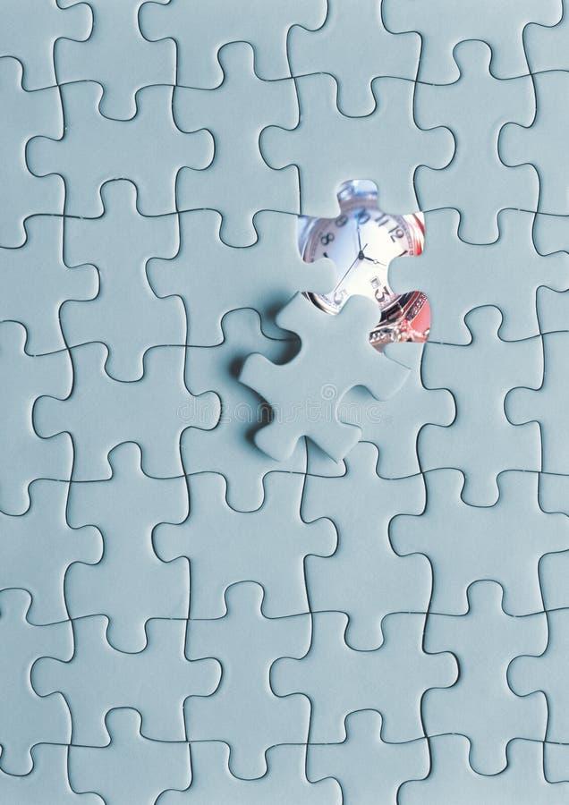 puzzle d'horloge  image stock