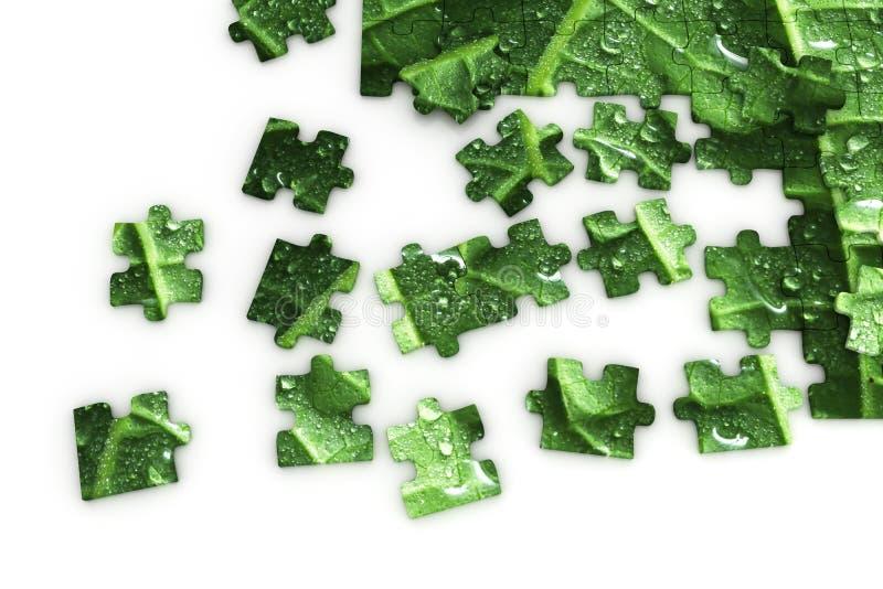 Puzzle d'une lame illustration de vecteur
