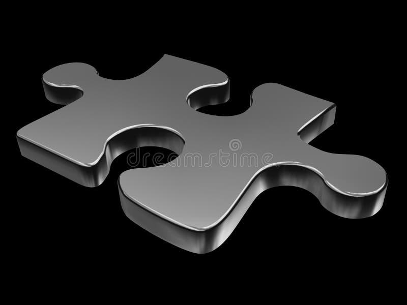 puzzle de partie illustration stock