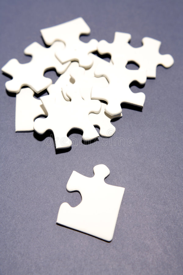 puzzle de parties photos stock