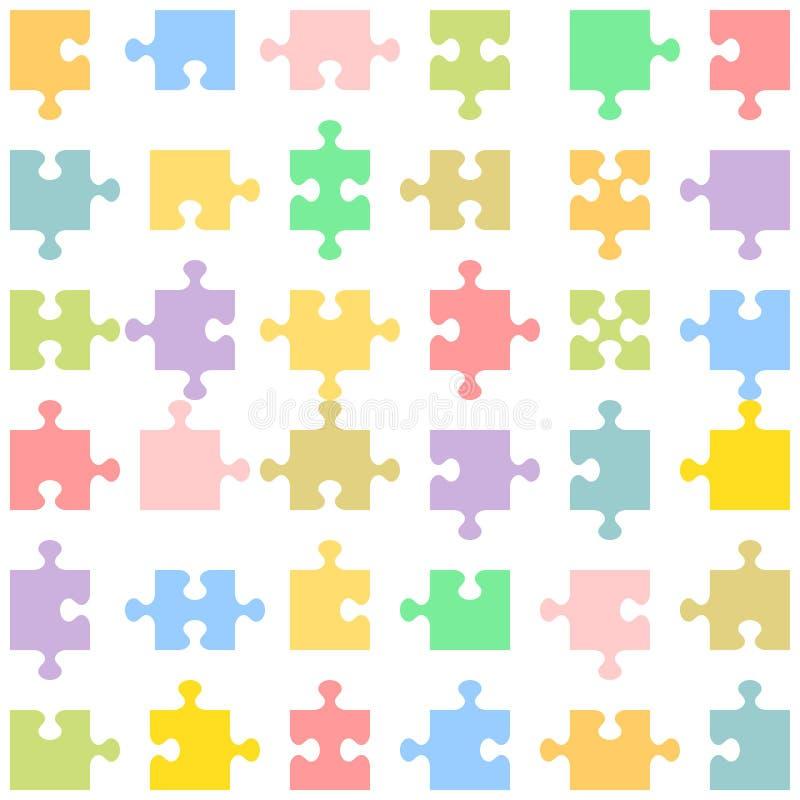 puzzle de parties illustration libre de droits