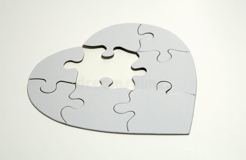 Puzzle del cuore immagine stock libera da diritti