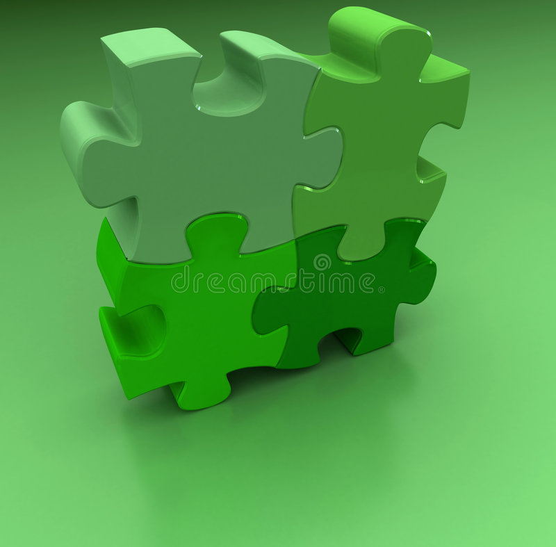 Puzzle del puzzle royalty illustrazione gratis