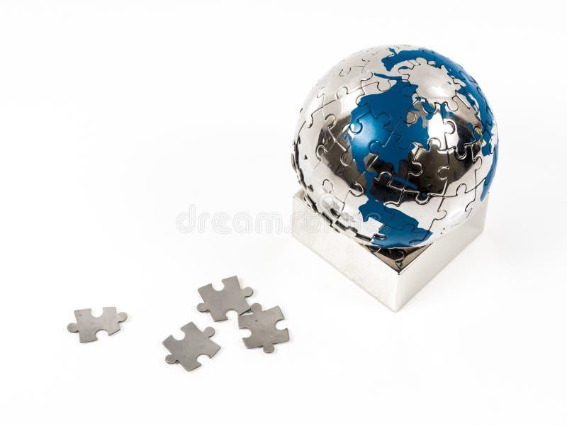 Puzzle della terra fotografia stock libera da diritti
