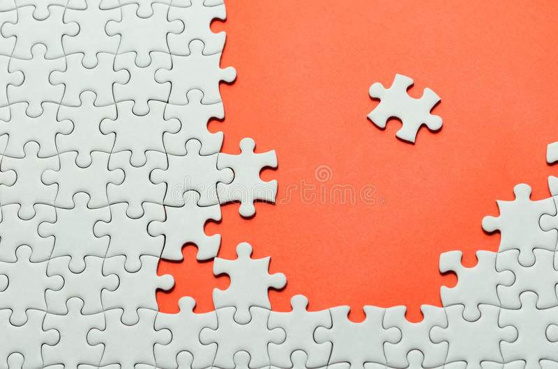 Puzzle denteux images libres de droits