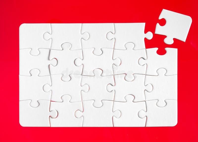 Puzzle denteux image libre de droits