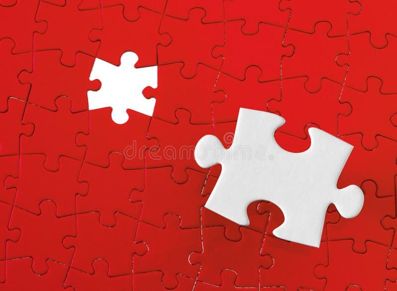 Puzzle denteux photographie stock