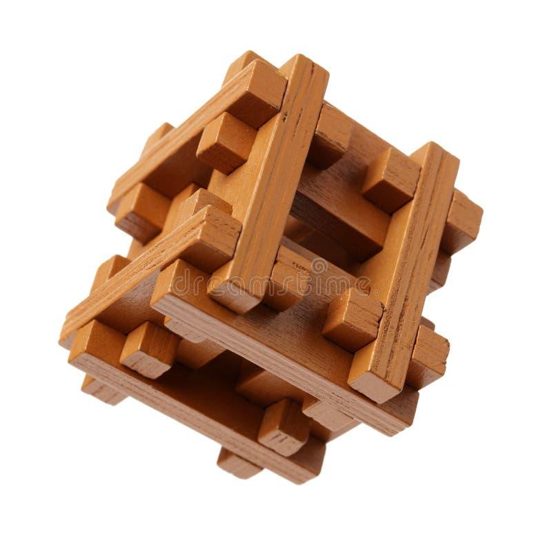 Puzzle en bois photographie stock libre de droits