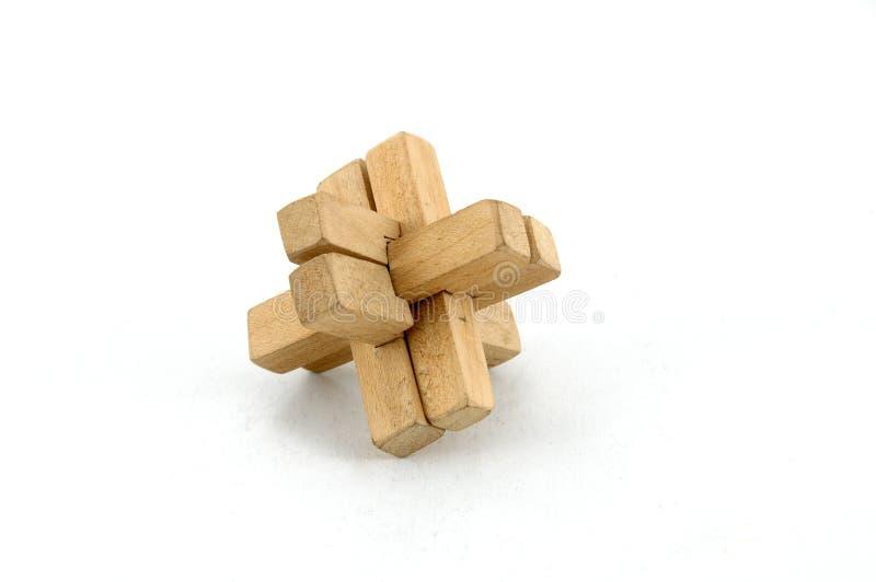 Download Puzzle en bois photo stock. Image du intéresser, pièces - 8657746