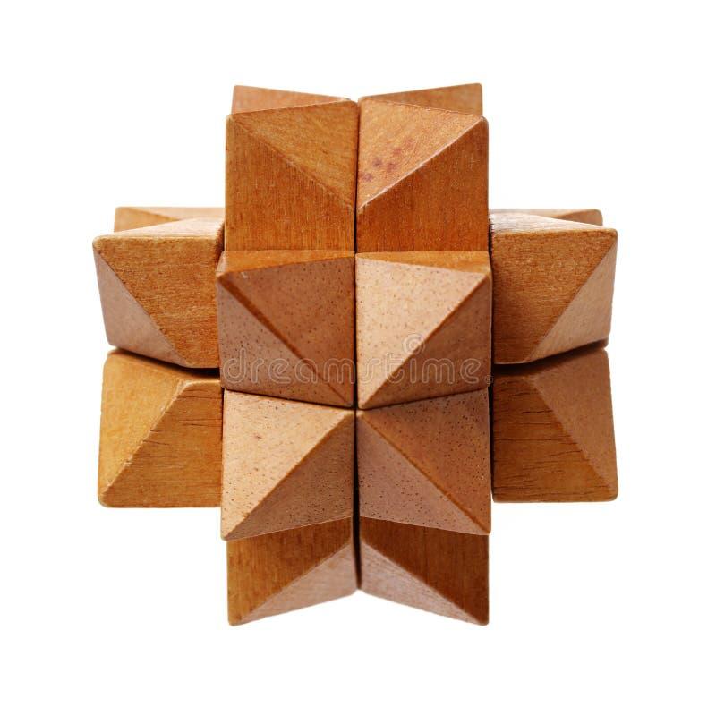 Puzzle en bois photographie stock