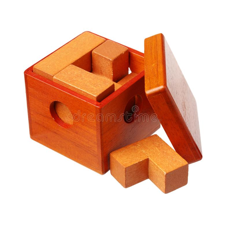 Puzzle en bois photos stock