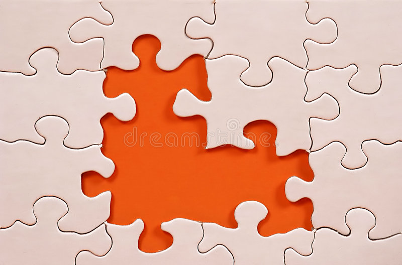 Puzzle Frame royalty free stock photo